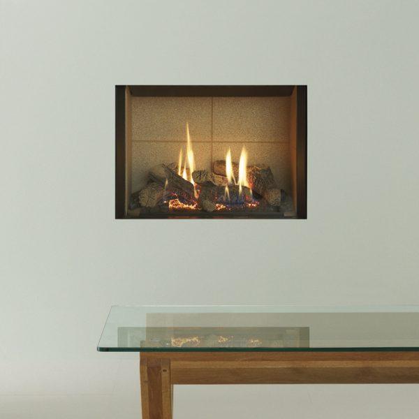 Gazco Riva2 500 with simple edge frame