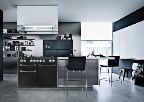 Mercury Range Cooker in Kitchen