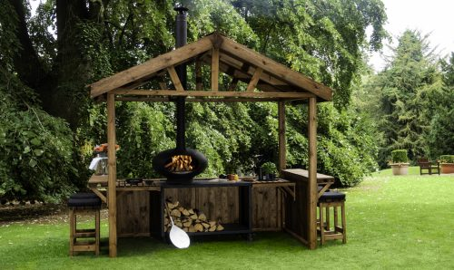 Morso Hut for Outdoor Cooking