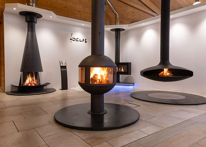 focus fires showroom devon south west
