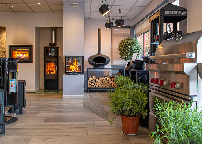 hearth and cook showroom exeter