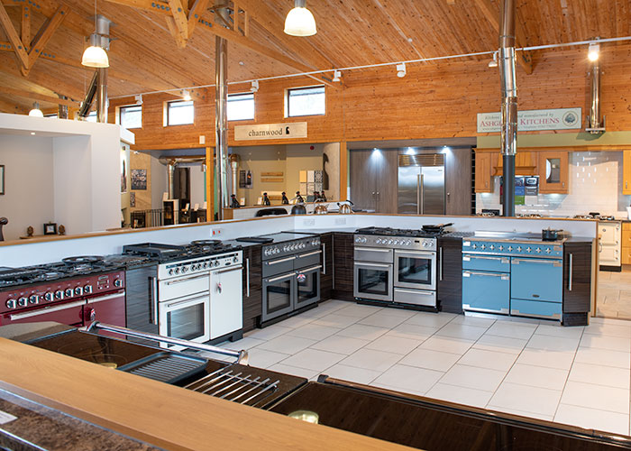 range cooker showroom devon