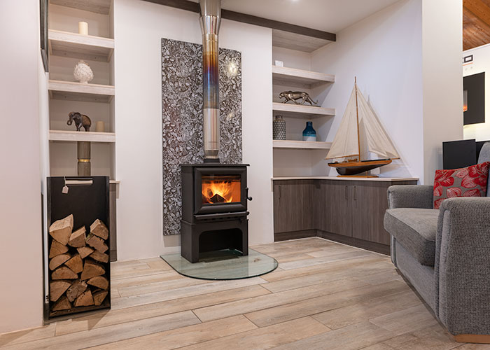 wood burning stove showroom devon