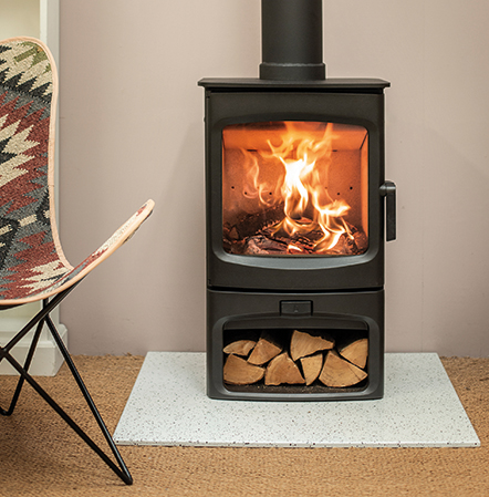 Charnwood Aire 5 Woodburning Stove - EcoDesign Stove with Defra approval