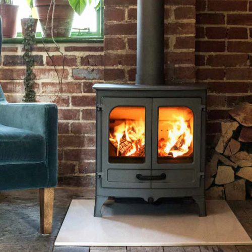 Charnwood Island 1 EcoDesign Ready Stove - Low Emission Stove