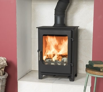 Town and Country Cropton EcoDesign Ready Stove - Low Emission Stove