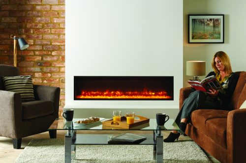 Radiance 135R Inset Electric Fire Rangemoors Devon