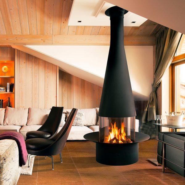 Filiofocus Central Gas Fireplace