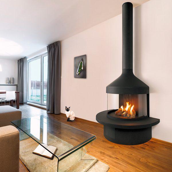 Optifocus Gas Fireplace